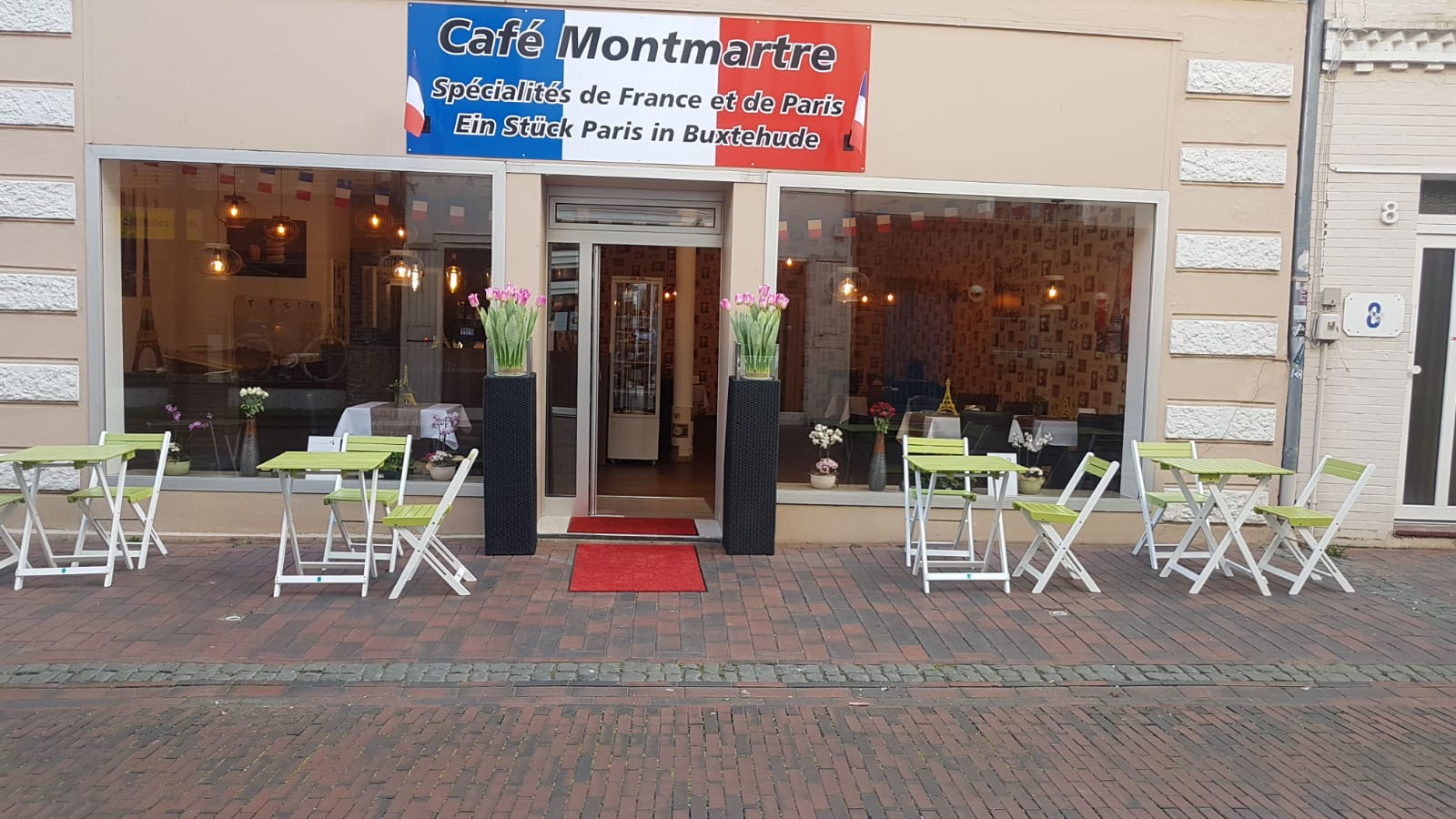 Cafe Montmartre von Außen